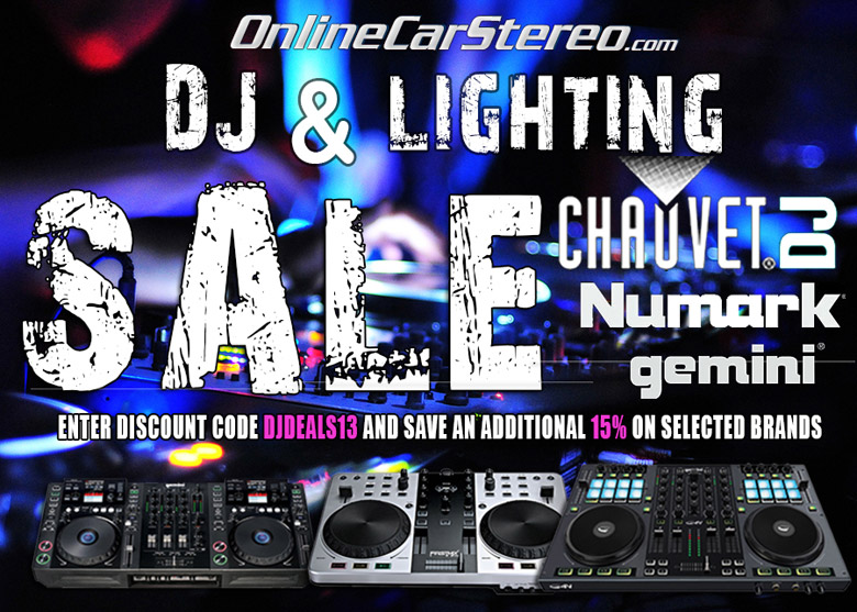 dj mixer lighting equipment sale