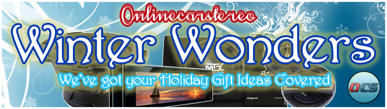 Winter Wonders - Car Audio Holiday Gift Ideas